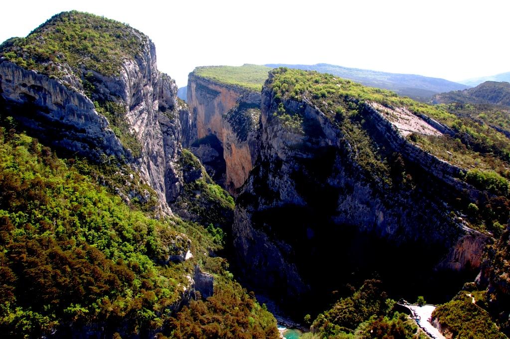 Gorges du Verdon - ett av våra bästa restips för Frankrike