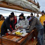 Livet ombord på segelfartyget Gratia