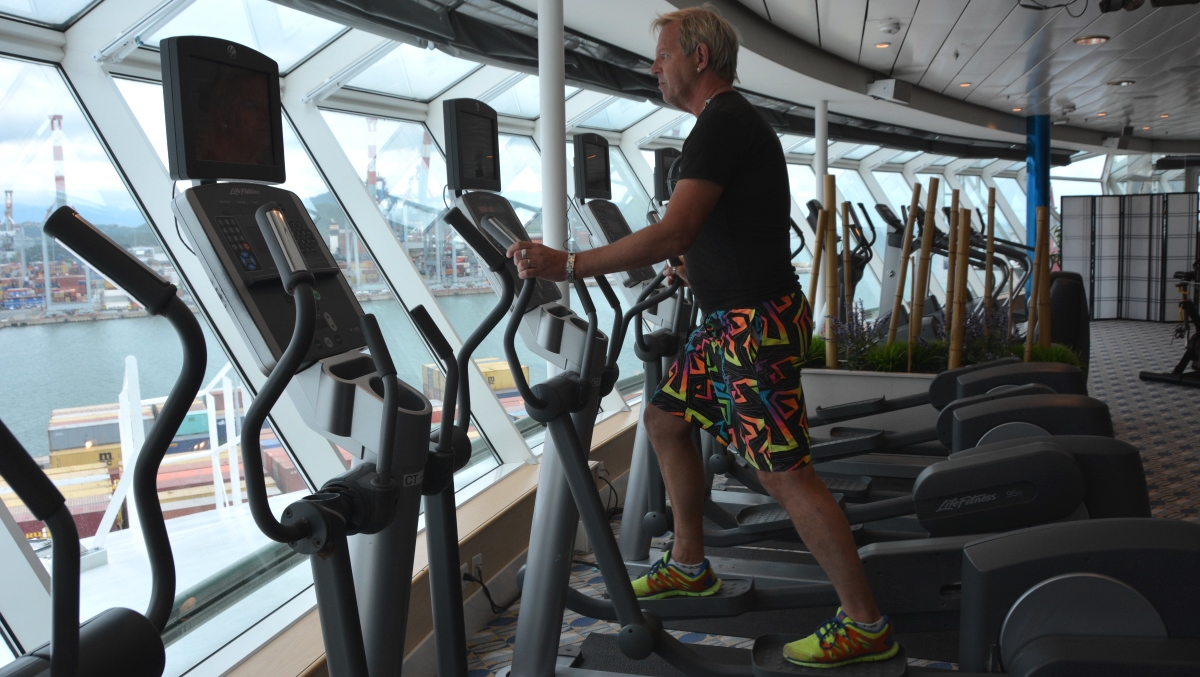 Gym på Freedom of the Seas