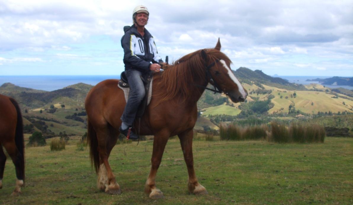 Hästridning på resan