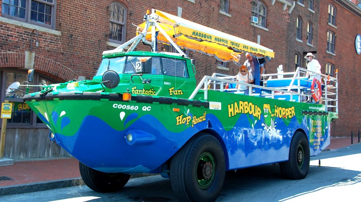 Harbour hopper tour