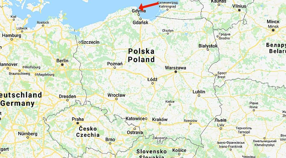 Polen, Hel, Jastarina