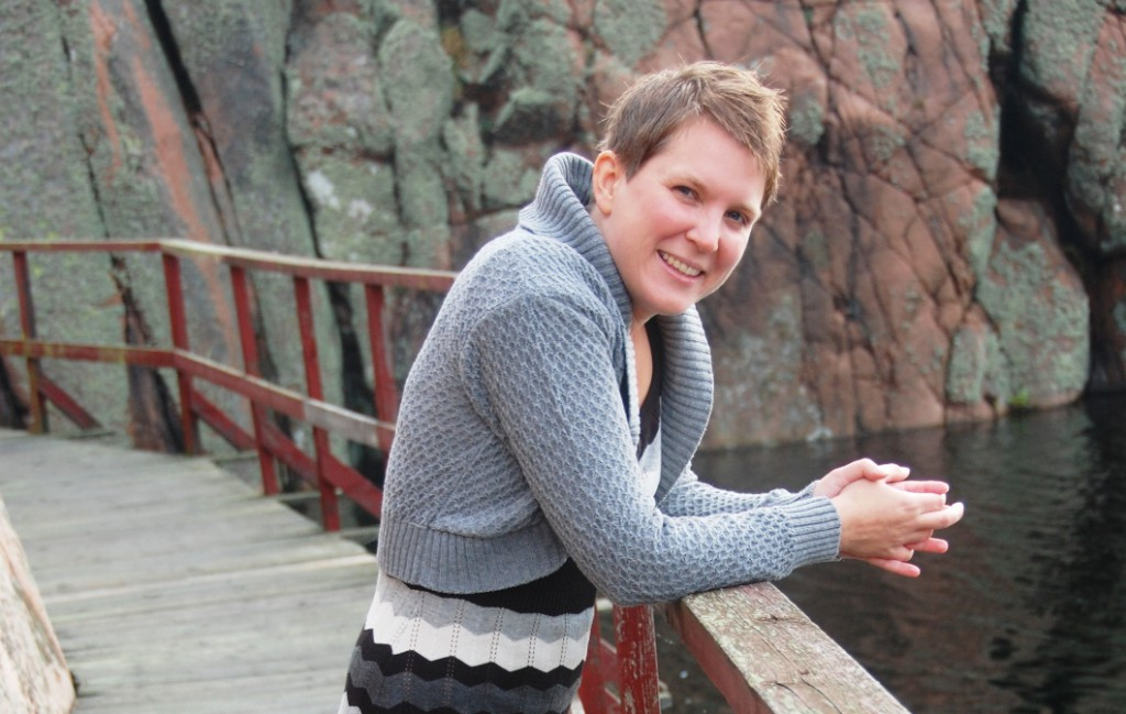 Helena i Smögen 2011