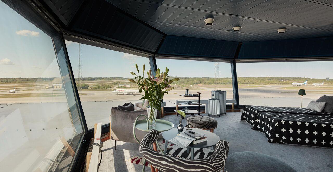 Flygplatstorn på Arlanda