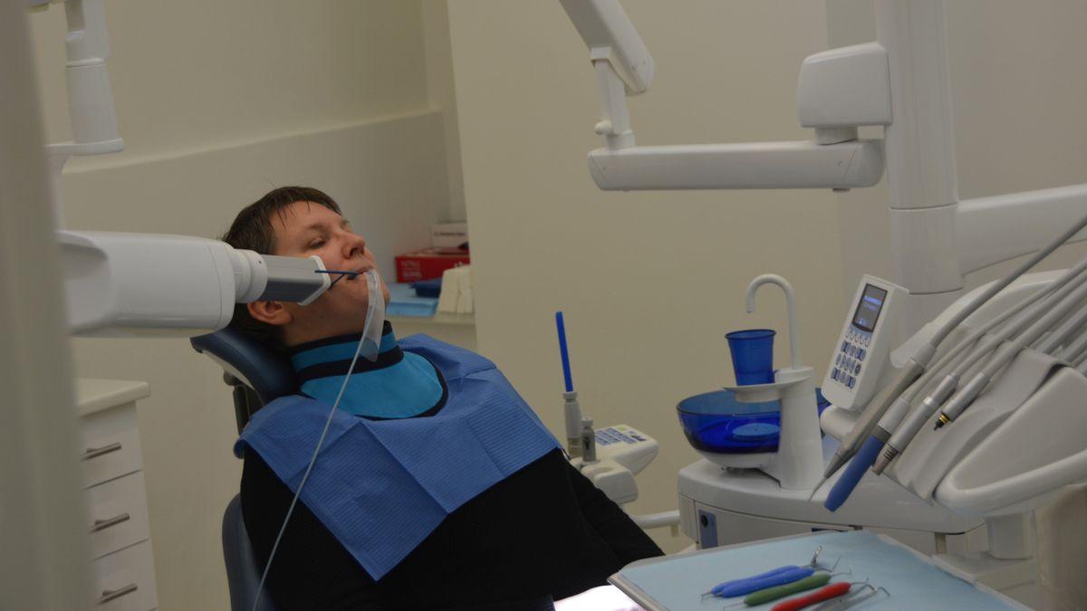 Hos tandläkaren