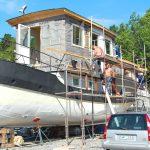 Att bygga om en husbåt