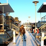 Marinan i vinterskrud – att bo i en isfri marina