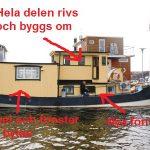 Våra planer för husbåten