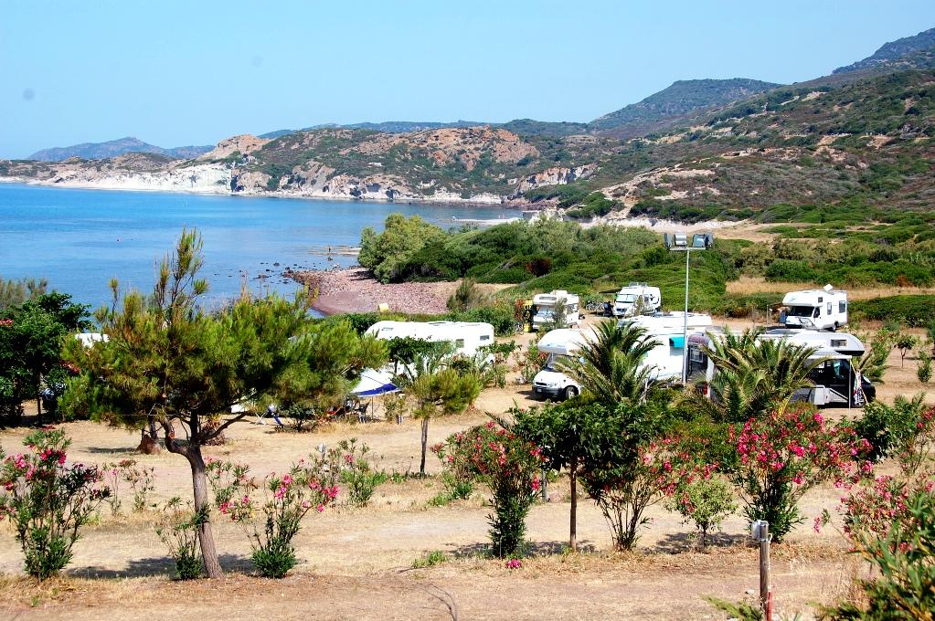 Husbilscamping Sardinien