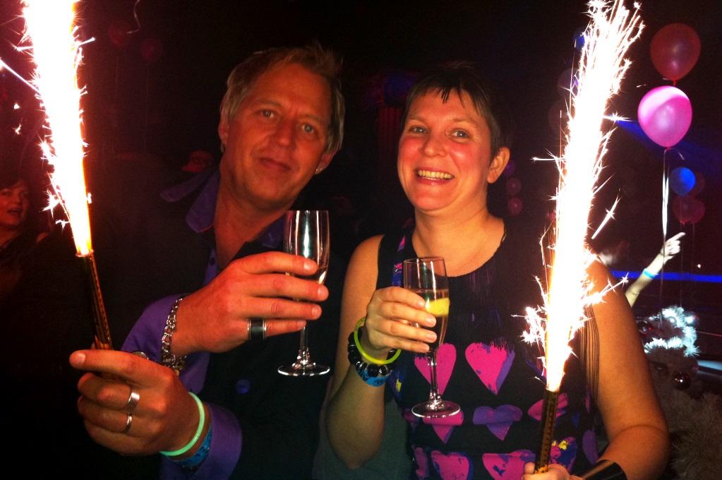 Peter och Helena firar in nyåret i Kiev