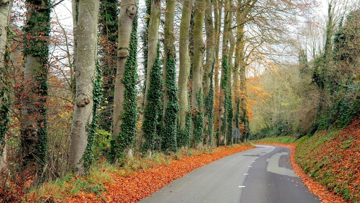 Småvägar i Frankrike