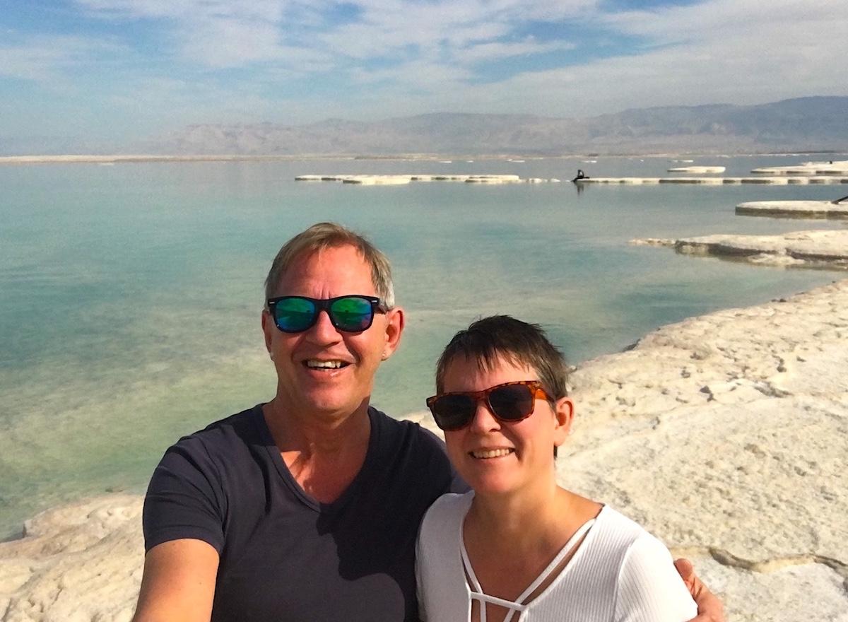 Döda havet och äventyrliga resmål