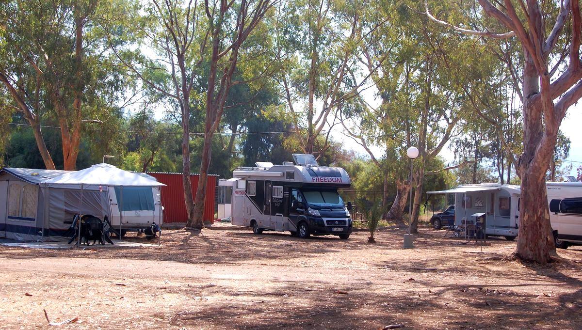 Igoumenitsa Drepanos beach campingar och ställplatser i Grekland