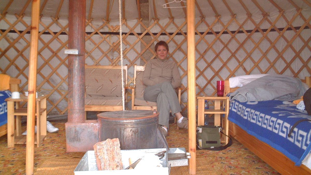 Jurta i Mongoliet