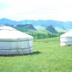 En natt i jurta i Mongoliet