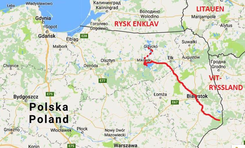Karta Polen