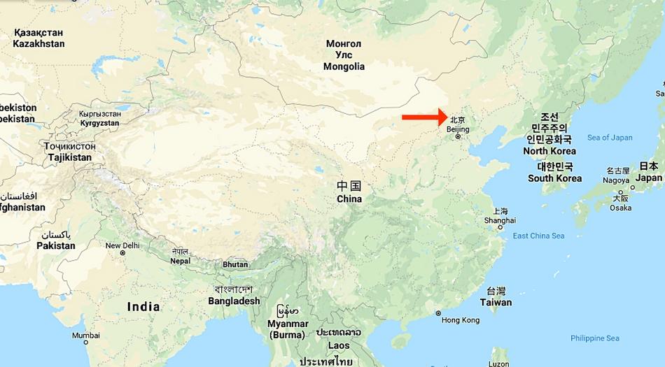 Kina, Badaling