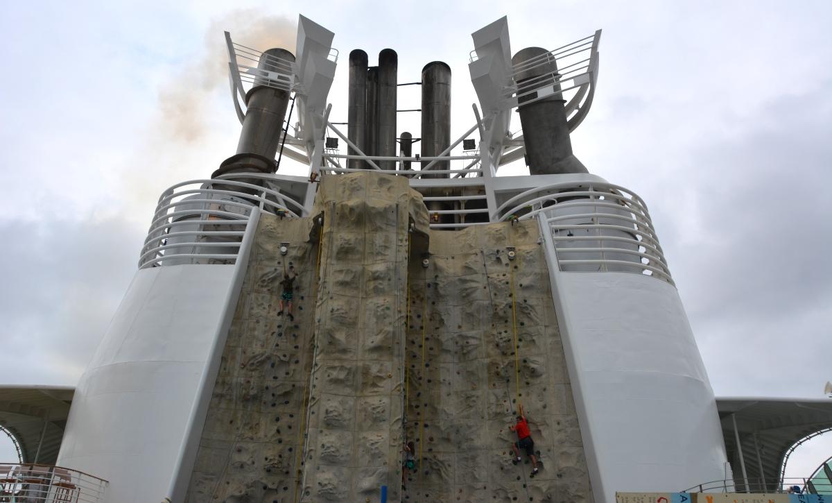 Klättervägg Freedom of the Seas
