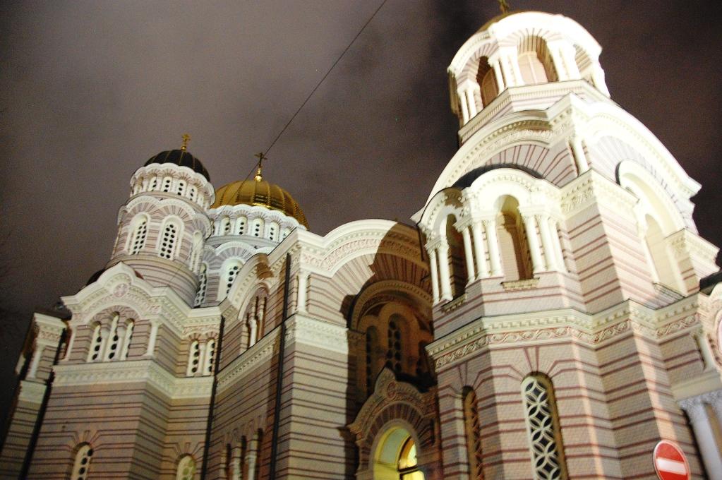 Ortodox kyrka i Riga