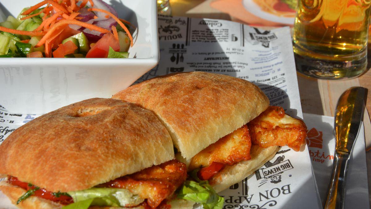 Lunch i Israel