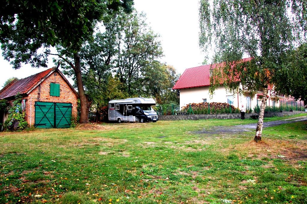 Ställplatser i Polen: Malbork