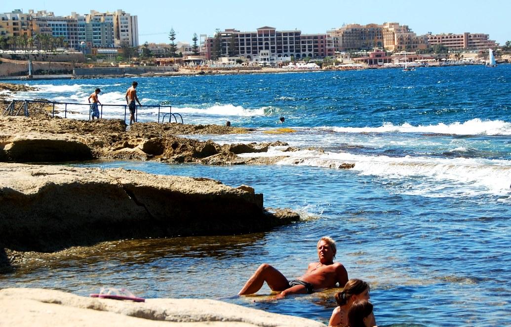 Peter i plurret på Malta