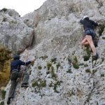 Prova klättring på Gozo
