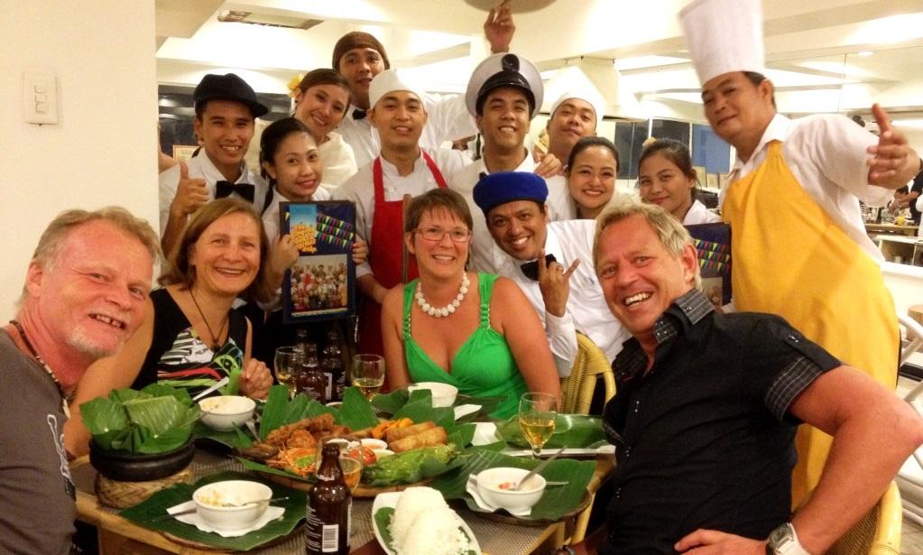 Restaurang i Manila