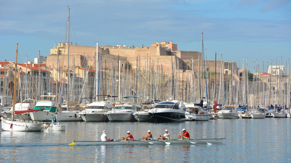 Marseille Gamla hamnen