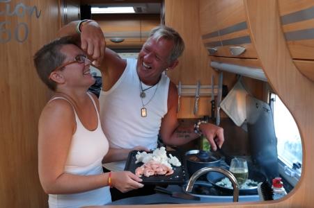 Matlagning i husbilen