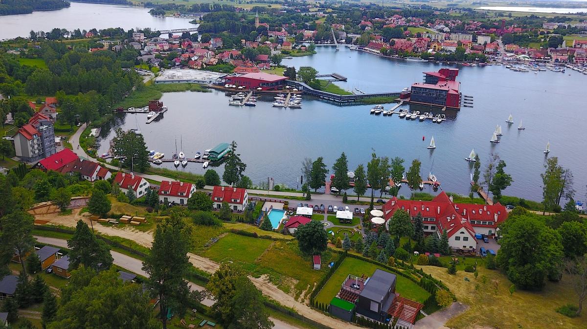 Mikolajki Masuriska sjöarna