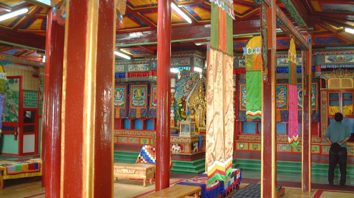 Mongolia tempel