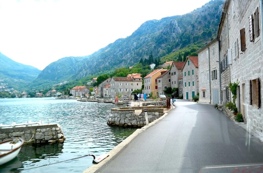 Kotorbukten - ett fint restips för Montenegro