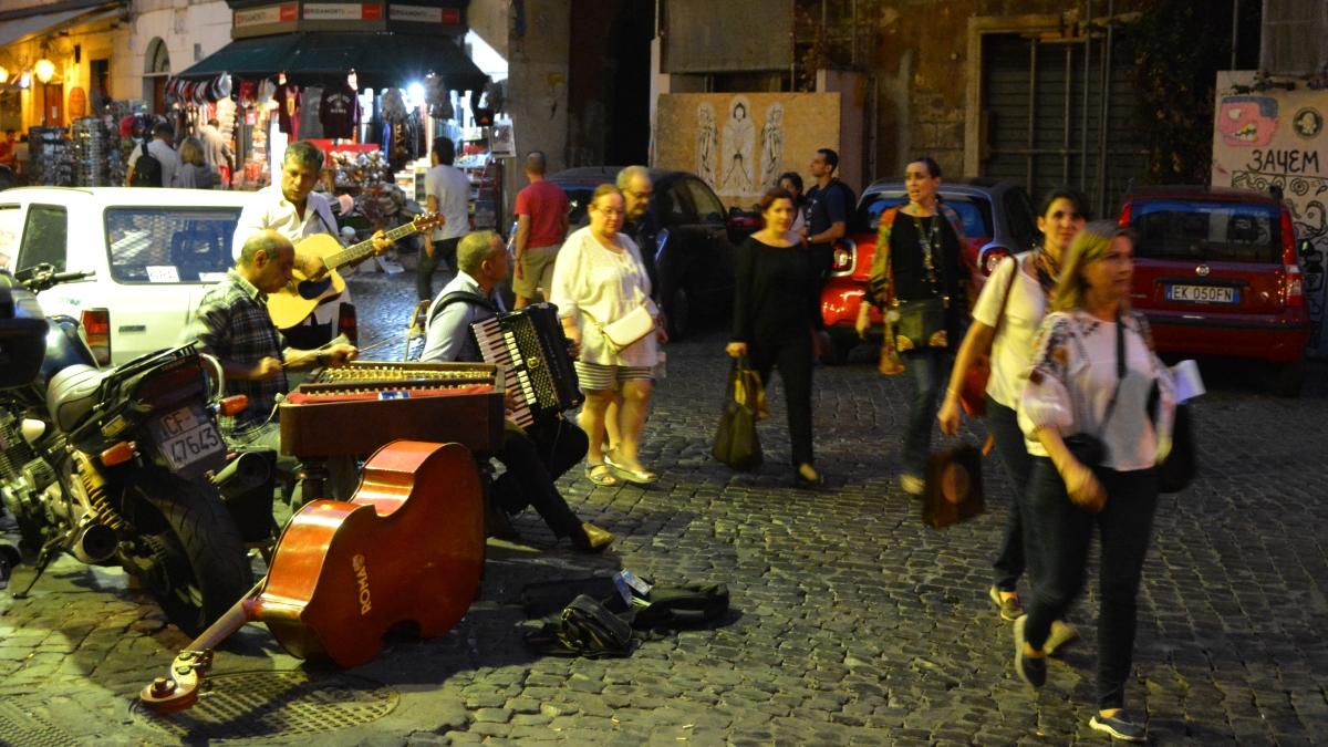 Musiker Rom