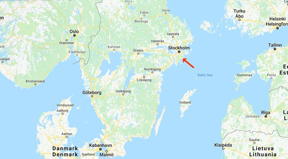 Sverige, Gålö havsbad