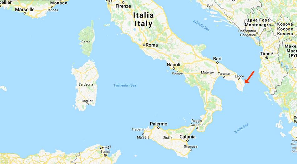Italien, Oranto