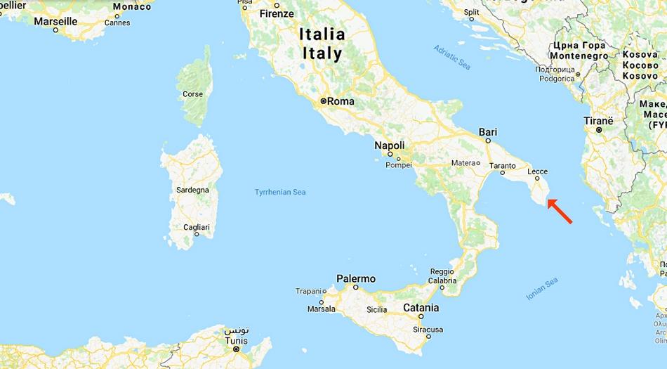 Italien, Apulien