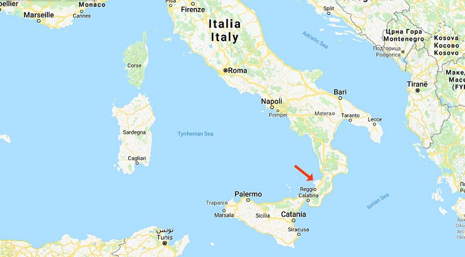 Italien, Kalabrien, Tropea