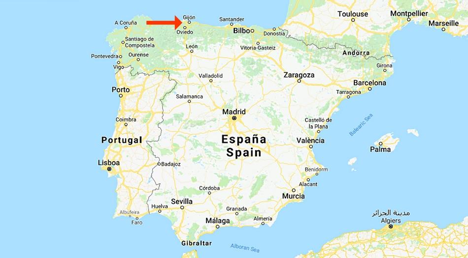 Spanien, Gijon