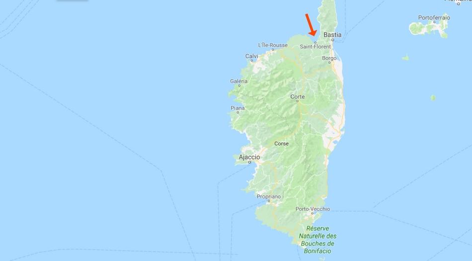 Korsika, Saint Florent
