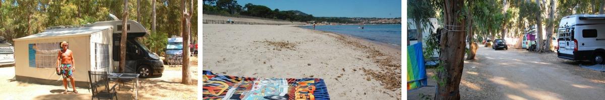 Frankrike, Korsika, Camping i Calvi