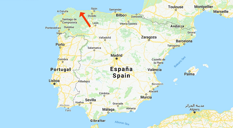 Spanien, Tapia De Casaregio