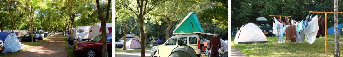 Italien, Milano camping
