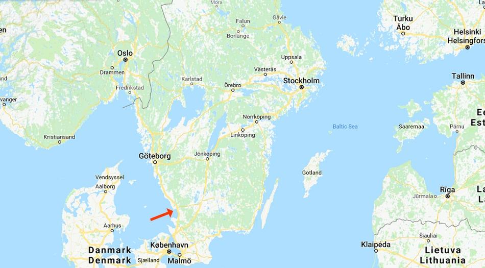 Sverige, Halmstad, Tylösand