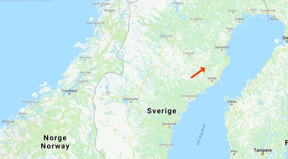 Sverige, Vindelälven