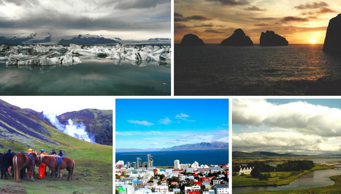 Island runt med bil
