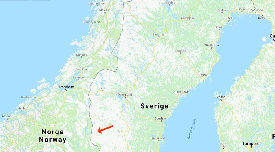 Sverige, Idre fjäll