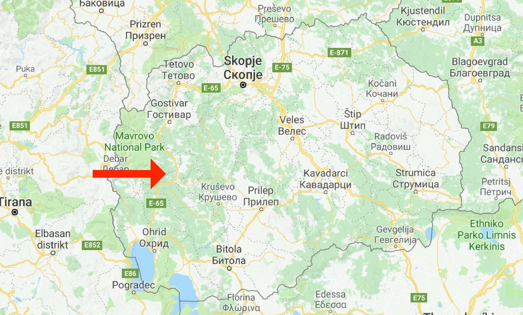 Kicevo Makedonien