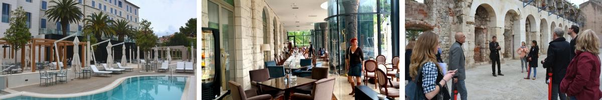 Kroatien, Split, Park hotel