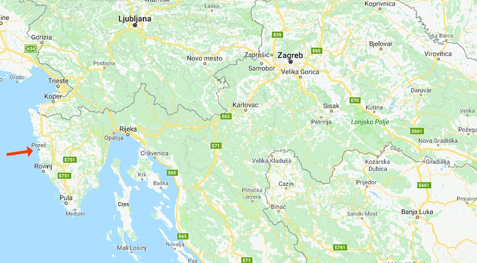 Kroatien, Istrien, Porec,
